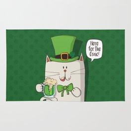 Irish cat Rug