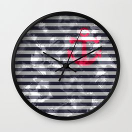 Nautical anchor Wall Clock