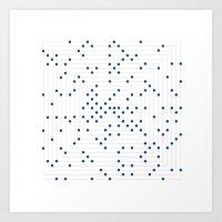 #548 Ulam spiral – Geometry Daily Art Print