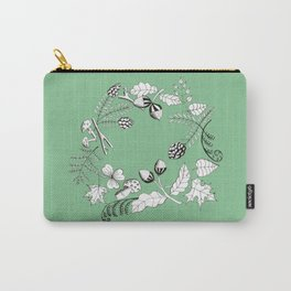 Forest Wreath Carry-All Pouch