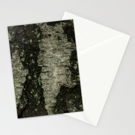 Birch Bark With Moss Stationery Cards