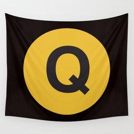 Q Train Wall Tapestry