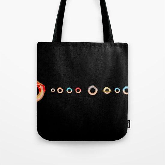 Solar System Donuts Tote Bag