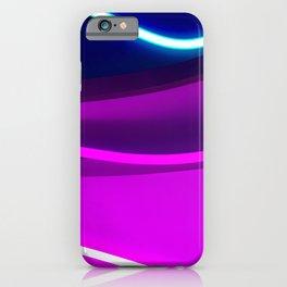Neon Wonder iPhone Case