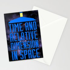 Doctor Who: The Tardis! Time and Relative Dimension in Space Stationery Cards