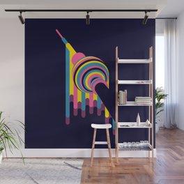 Lollipop Tower Wall Mural