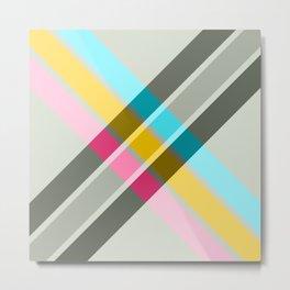 Abundance - Colorful Abstract X Art Metal Print