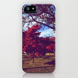 Fall My Way | Red iPhone Case