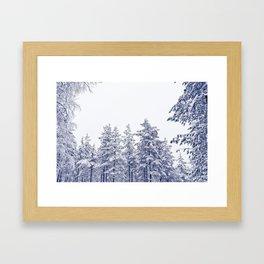 Narnia in Finland Framed Art Print