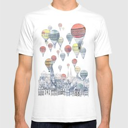 Voyages Over Edinburgh ~ Refresh T-shirt