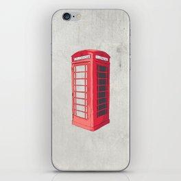 Oxford Phone Booth iPhone Skin