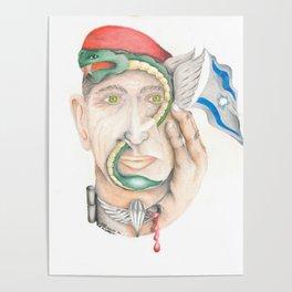 Israeli Paratrooper Poster