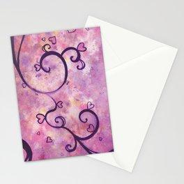 Dark Hearts Stationery Cards