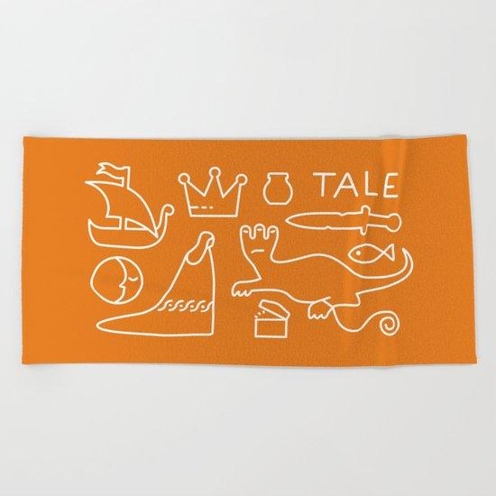 Tale - GD Narrative Beach Towel