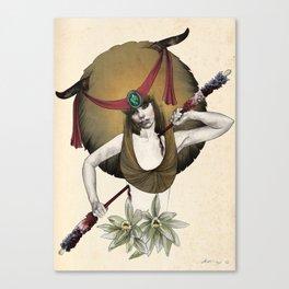 Taurus - Colour version Canvas Print