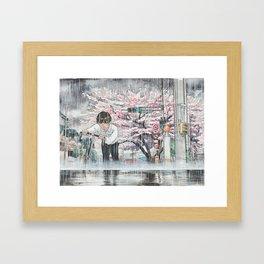 Bicycle Boy 06 Framed Art Print