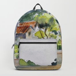 Camille Pissarro - All Saints' Church, Beulah Hill - Digital Remastered Edition Backpack