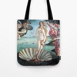 The Birth of Venus, Sandro Botticelli Tote Bag