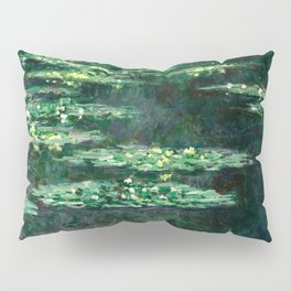 1904-Claude Monet-Waterlilies-89x92 Pillow Sham
