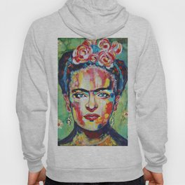 Frida «Pink Flowers» Hoody