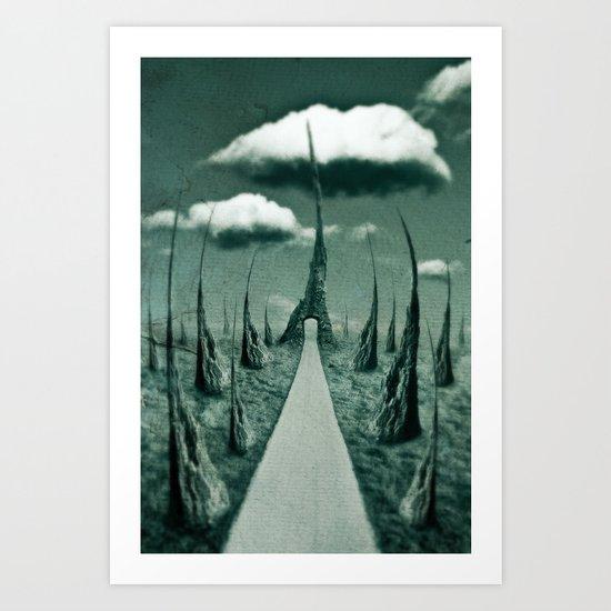 forbidden gateway Art Print