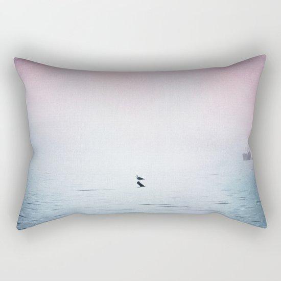 A Moment of Rest - Breathe Rectangular Pillow