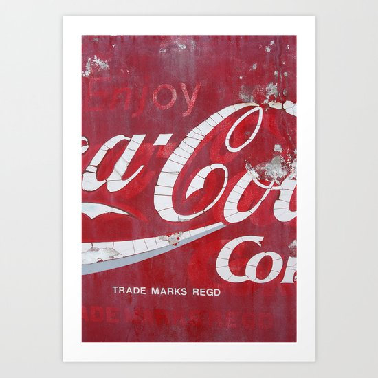 THE REAL THING Art Print