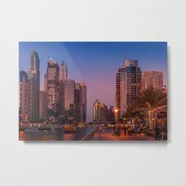 Dubai 64 Metal Print