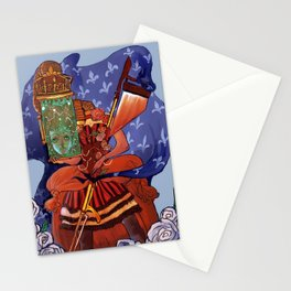 marie antoinette steampunk Stationery Cards