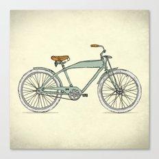 Retro-bicycles (1903) Canvas Print