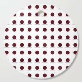 Chocolate Cosmos Cutting Board