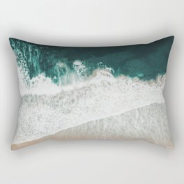 Lost waves Rectangular Pillow