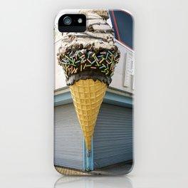 Ice Cream on the boardwalk iPhone Case
