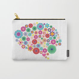 Flower brain Carry-All Pouch