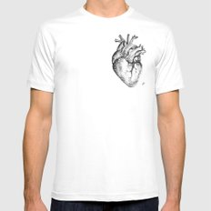 my heart Mens Fitted Tee White MEDIUM