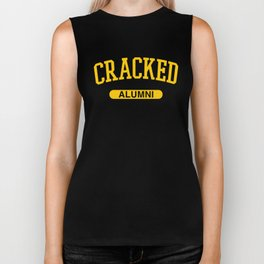 Cracked Alumni Biker Tank