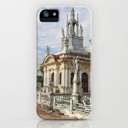 Christopher Columbus Necropolis Cemetery Graveyard Havana Cuba Latin America Gothic Architecture Sai iPhone Case
