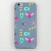 insects iPhone & iPod Skins featuring Insects by Micaela Zahner Design