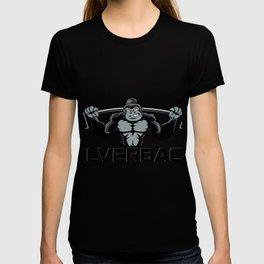 Strong monkey cartoon T-shirt