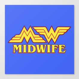 MidWife (Comic Version) Canvas Print