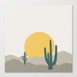 Desert Dreamin' Canvas Print