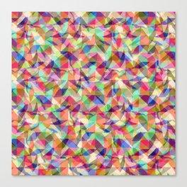 Turbulent Flow Canvas Print
