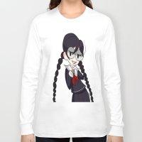 dangan ronpa Long Sleeve T-shirts featuring Book Girl by dartty