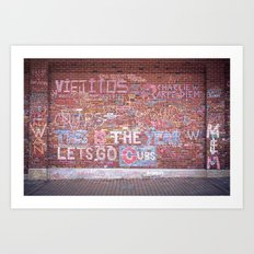 This is the Year - Wrigley Wall Art Print