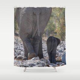 Elephant Love 5 Shower Curtain