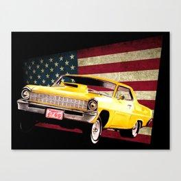 Chevy Nova 67 Canvas Print