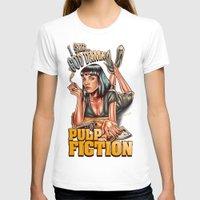 mia wallace T-shirts featuring Mia Wallace - Pulp Fiction by Renato Cunha