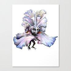 Dark Iris Canvas Print