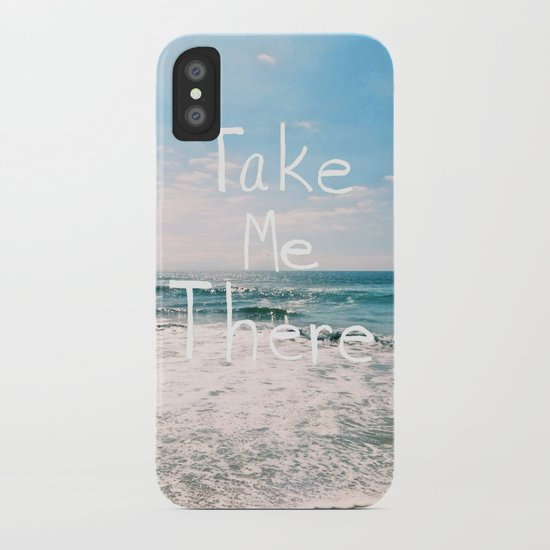 Take Me There... iPhone Case
