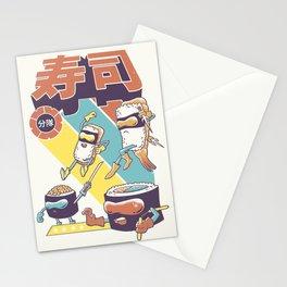 Sushi Sentai Stationery Cards